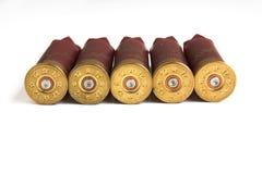 Shelles de escopeta Fotografía de archivo