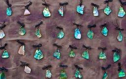 Shelles de Paua Imagenes de archivo
