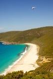 Shelley Beach Hang Glider Photo libre de droits