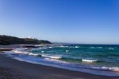 Shelley Beach Nambucca Heads No.8 best beach in Australia, New South Wales, Australia. Shelley Beach Nambucca Heads No.8 best beach in Australia, travel, coast stock images