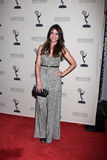 Shelley Hennig arrives at the ATAS Daytime Emmy Awards Nominees Reception Royalty Free Stock Images