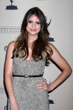 Shelley Hennig arrives at the ATAS Daytime Emmy Awards Nominees Reception Stock Image