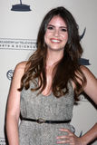 Shelley Hennig arrives at the ATAS Daytime Emmy Awards Nominees Reception Stock Photos
