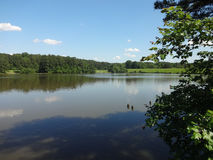 Shelley Lake, Nord Carolina Immagini Stock Libere da Diritti