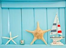 Shellfish decoration of the sea Stock Photos
