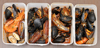Shellfish food Stock Photography