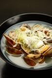 Shellfish soup Royalty Free Stock Image