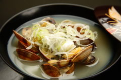 Shellfish soup Stock Photo