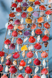 Shellfish souvenirs summer Stock Images