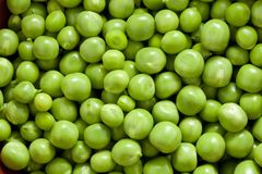 Shelling peas Royalty Free Stock Images