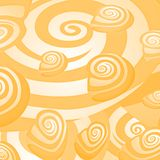 Shells. Abstract background made to the computer Royalty Free Stock Photo