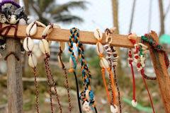 Shells Bracelet. Photo image with shells bracelet Royalty Free Stock Photography