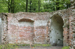 Shells cave in the historic gardens of the estate Wiltzangk. Royalty Free Stock Photos