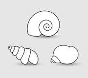 Shells Clipart Stock Foto's