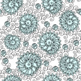 Shells seamless pattern Stock Images