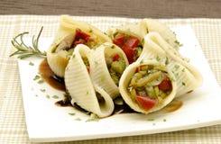 Shells van deegwaren Royalty-vrije Stock Fotografie