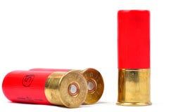 Shells van het jachtgeweer Stock Afbeeldingen
