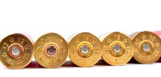 Shells van het jachtgeweer Stock Afbeelding