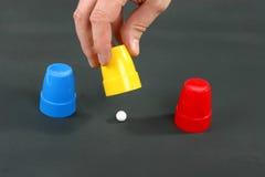 Shellspiel Lizenzfreie Stockfotos