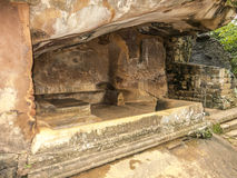 Shellter dans le vieux royaume dans Sri Lanka Photo stock