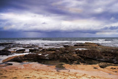 Shelly Beach Stock Image