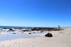 Shelly Point Lighthouse royalty-vrije stock foto