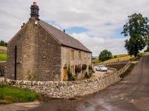 Shelsdon cottages Royalty Free Stock Photo