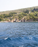 Shelter in Bay. Montenegro. Royalty Free Stock Photography