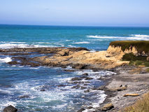 Shelter Cove. Photograph taken near the Cape Mendocino Lighthouse at Shelter Cove, California Stock Image