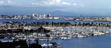 Shelter Island, San Diego Royalty Free Stock Photos