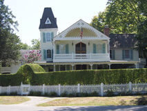 Shelter Island victorian home Royalty Free Stock Images