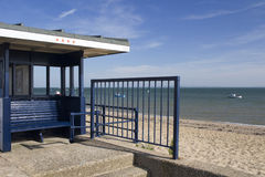 Shelter on Jubilee Beach, Southend-on-Sea, Essex, England Stock Photography