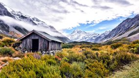 Shelter and Mount Cook Stock Photos