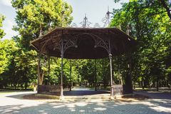 Shelter in the park Royalty Free Stock Photo