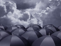 Shelter from the rain Royalty Free Stock Image