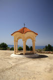 Shelter stand in Kefalonia Stock Images