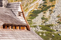 Shelter in the Tatra Mountains Stock Photography