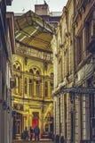 Sheltered passage Royalty Free Stock Photo