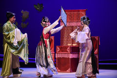 "Sheltered secret-Kunqu Opera ""the West Chamber"" Royalty Free Stock Photo"