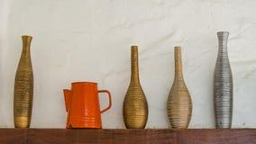 Shelves вазы. Стоковое фото RF