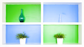 Shelves Royalty Free Stock Images