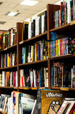 Shelves Of A Book Store Royalty Free Stock Photography