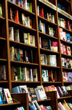 Shelves Of A Book Store Stock Photography
