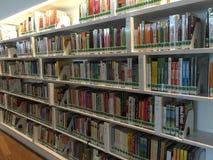 Shelves of books Royalty Free Stock Photos