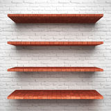 Shelves Royalty Free Stock Image