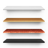 Shelves Royalty Free Stock Photography