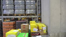 Distribution Center Warehouse stock footage
