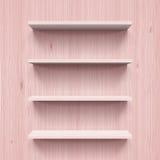 Shelves royalty free illustration
