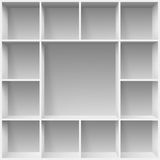 Shelves Royalty Free Stock Image