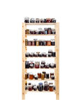 Shelves of homemade jam Royalty Free Stock Image
